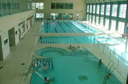 Pool and water area