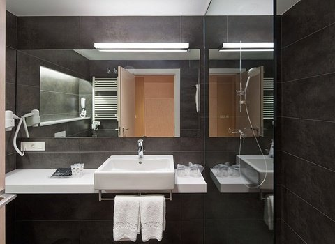 Bathrooms spacious and complete with all the needs for your ...
