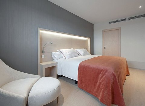 The Sercotel Hello Tafalla has 58 rooms fully equipped.